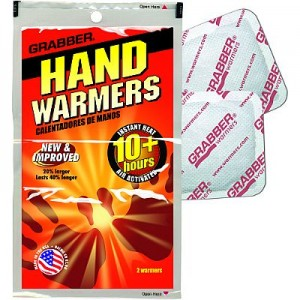 Hand warmers or rubbers? You decide!