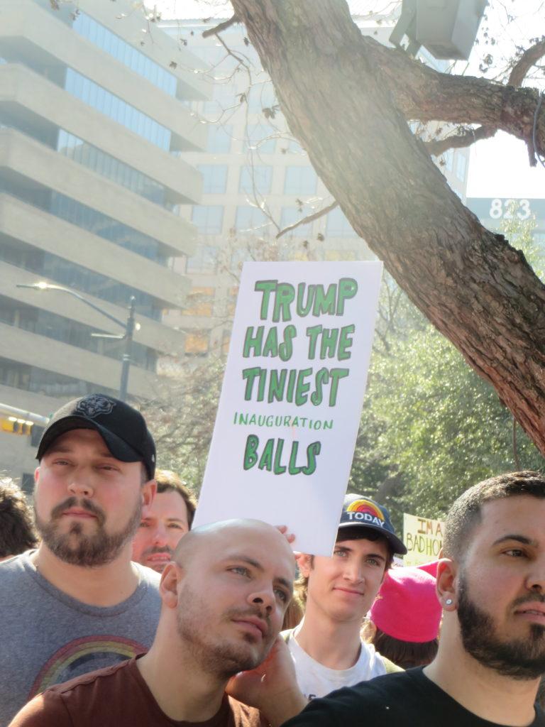 Women's March, Austin, 2017