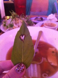 hearts and lunch