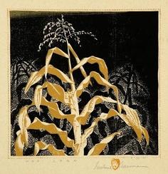 Hopi Corn, Gustave Baumann