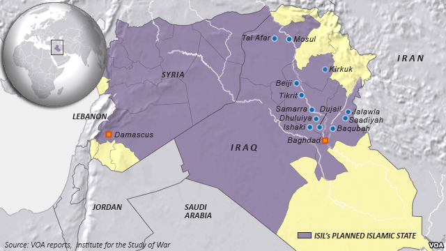 ISIL's Planned Islamic State