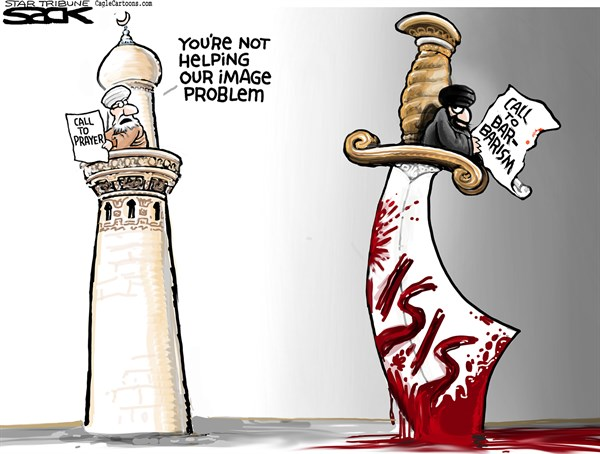 ISIS Political cartoon