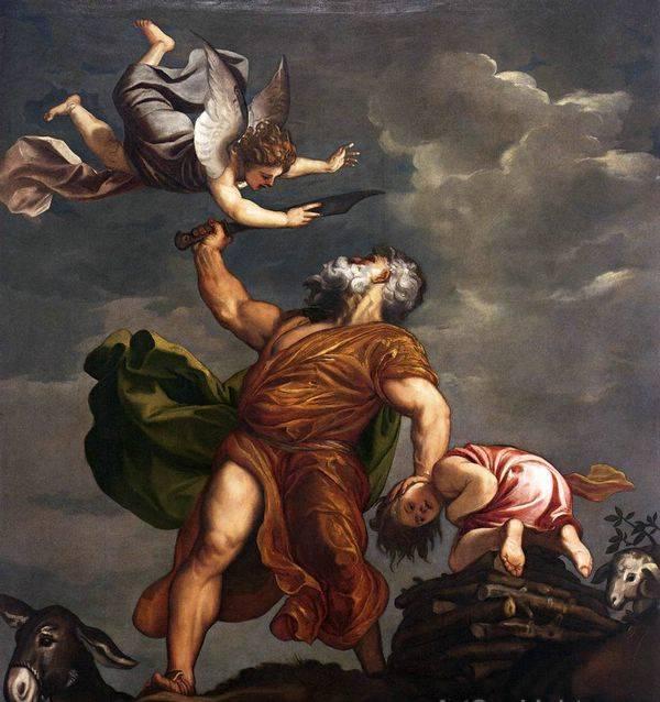 Sacrifice of Isaac Tiziano Titian Vecellio