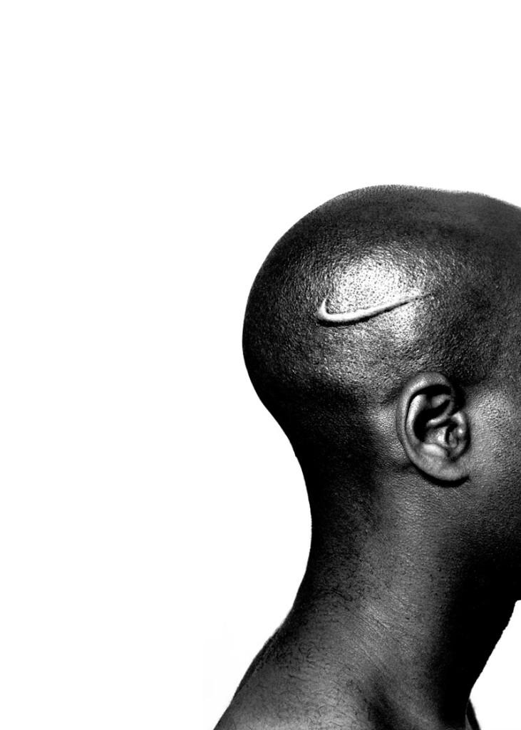 Hank Willis Thomas, Branded head