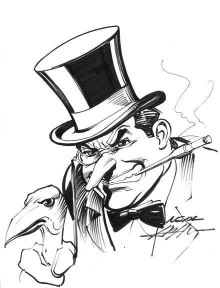 The Penguin by Neal Adams